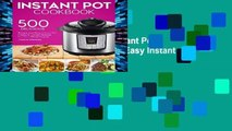 D.O.W.N.L.O.A.D [P.D.F] Instant Pot Cookbook: 500 Simple, and Easy Instant Pot Pressure Cooker
