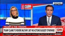 S E Cupp speaks on Donald Trump to revere military, but his actions suggest otherwise. @secupp #News #CNN USNews #DonaldTrump
