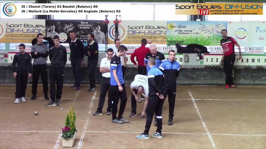 Secondes parties de poules , quatrième étape du Super 16 masulin, saison 2018-2019, La Motte-Servolex 2018