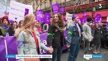 Forte mobilisation contre les violences faites aux femmes