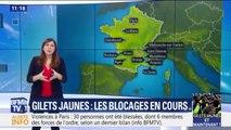 Gilets jaunes: des blocages ont toujours lieu ce dimanche, notamment dans le sud de la France
