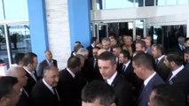 MHP Antalya İl Başkanları ve Belediye Başkanları Toplantısı - Bahçeli'nin çıkışı - ANTALYA