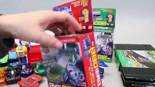 터닝메카드 타요 폴리 뽀로로 장난감 Robot Car transformers Turning Mecard Toys мультфильмы про машинки Игрушки