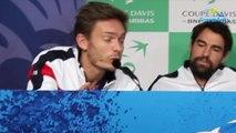 """Coupe Davis 2018 - France-Croatie - Nicolas Mahut : """"Ça ne passe pas pour moi la décision de la France sur la réforme de la Coupe Davis"""""""