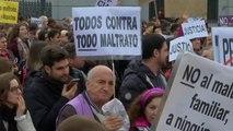 """Miles de personas gritan en España contra la violencia machista: """"Ni una menos"""""""