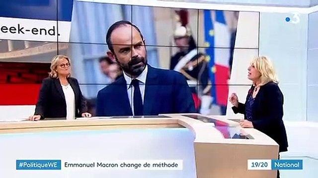 """""""Gilets jaunes"""" : Emmanuel Macron change de méthode"""