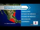 Empresas extranjeras en México frenaron inversiones por inseguridad en 2017   Noticias con Ciro