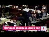Diputados de Italia se agarran a golpes en sesión del Congreso | Noticias con Yuriria