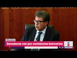 Senadores de Morena insisten en quitar las comisiones bancarias | Noticias con Yuriria