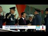 EPN urgió al próximo gobierno brindar un marco legal a las fuerzas armadas   Noticias con Paco Zea