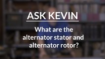 What Are The Alternator Stator And Rotor?