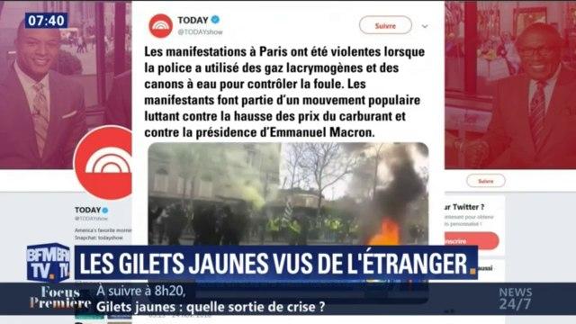 Gilets jaunes: comment les médias étrangers ont relayé les débordements sur les Champs-Élysées