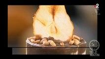 Gourmand - crème de châtaigne, poires croustillantes