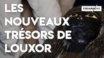Égypte : un tombeau et des sarcophages découverts à Louxor