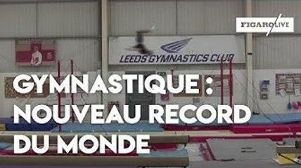 Gymnastique : il bat le record du monde de saut entre deux barres horizontales