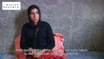 Action Yazidis - Témoignage d'une rescapée yézidie