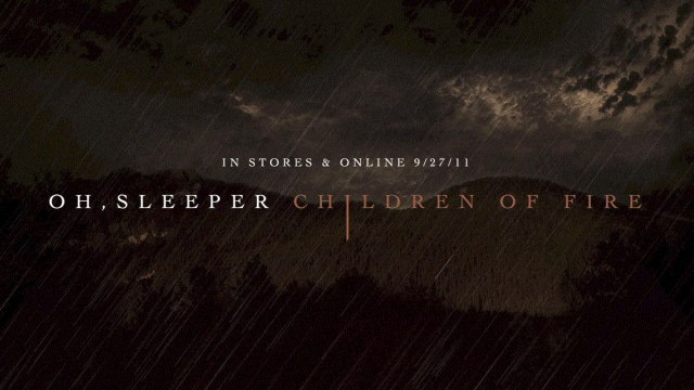 Oh, Sleeper - The Marriage Of Steel And Skin
