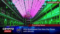Crypto Updates #59 - Tax In Bitcoin, Paraguay Crypto Mining Farm, PDP On Blockchain