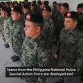 PNP deploys SAF after Duterte order vs 'lawless violence'