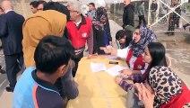 Türk Kızılayı Irak'taki göçmenlere insani yardım - ERBİL