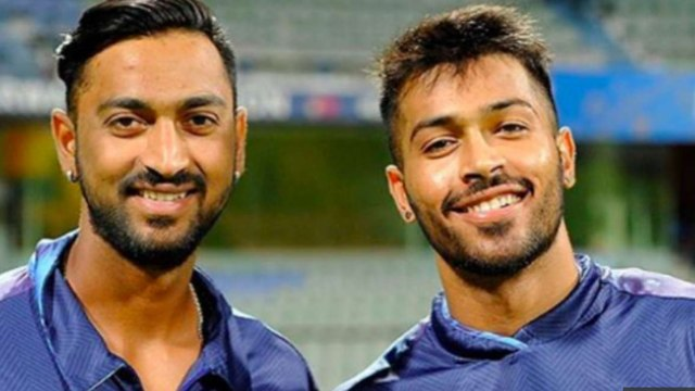 India vs Australia: Hardik Pandya makes fun of Krunal Pandya after Brisbane thrashing|वनइंडिया हिंदी
