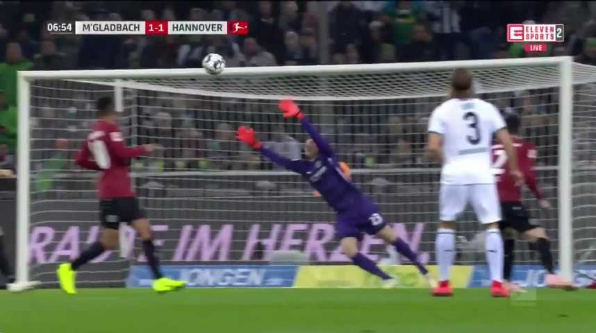 Compilation sur la performance de Thorgan Hazard face à Hanovre