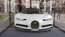 Une Bugatti Chiron au marché de Noël de Strasbourg :  « agréablement surprenant » !