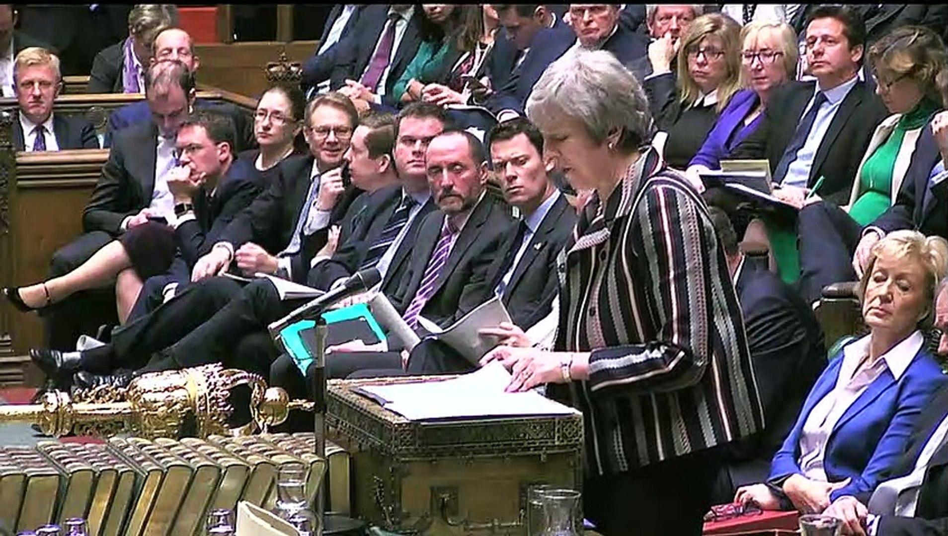 Corbyn slams May's Brexit deal as