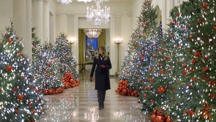 White House Christmas Decorations With Melania Trump