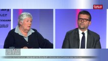 Un échange tendu entre  le député Luc Carvounas et Jacqueline Gourault