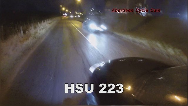Court Case - HSU223 - Extremely close pass against oncoming traffic - B9119 Westhill, Aberdeen