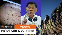 Duterte: Build chapels in your house, no need to go to church   Midday wRap