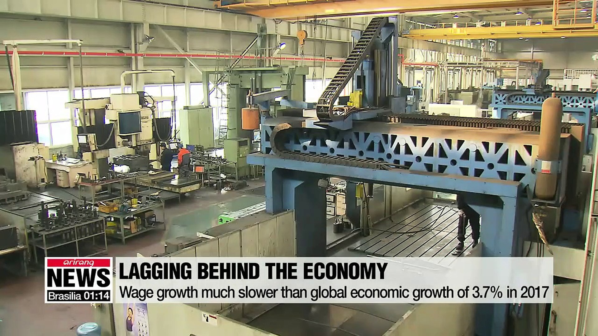 ILO Global Wage Report shows the lowest wage growth of 1.8% last year