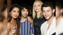 Priyanka Chopra & Nick Jonas Enjoy Dinner with Joe Jonas & Sofi Turner; Watch video | FilmiBeat