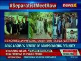 Separatist Meet Row: Omar Abdullah and Congress questions Modi government on meet