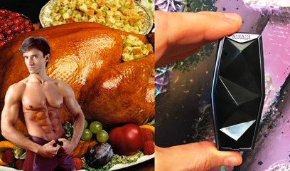 PERSONAL PORTABLE AIR PURIFIER & HEALTHY THANKSGIVING LEFTOVERS | Fit Now with Basedow #161