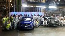 PSA Sochaux fête sa millionième Peugeot 308 et sa 500.000e Peugeot 3008