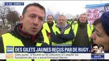 """""""C'est du somnifère."""" Ce gilet jaune fustige la réponse d'Emmanuel Macron et la réception de certains par François de Rugy"""
