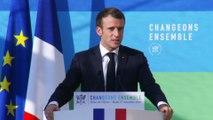 Discours du Président de la République Emmanuel Macron devant le Haut-conseil pour le climat
