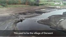 The once-underwater ghost village of England