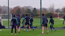 Tottenham Hotspur prepare for Inter Milan in UEFA Champions League