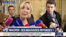 """Marine Le Pen fustige """"le gang des moufles"""", ces députés LaRem qui ne font qu'applaudir à l'Assemblée, selon elle"""
