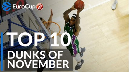 7DAYS EuroCup, Top 10 Dunks of November!
