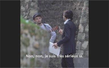 Les aventures de Hugues Blatard - Intervention sur un chanteur de rue