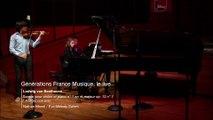 Beethoven : Sonate pour violon et piano n° 1 en ré majeur op. 12 n° 1 (I. Allegro con brio) (N. Mierdl / E-M. Salom)