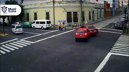 Accidente en Avenida Elena