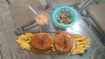Egg Shami Burger Recipe | Anda Shami Burger | Restaurant Style Shami Burger | Spicy Kitchen