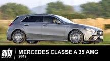 MERCEDES CLASSE A 35 AMG 306 ch 2019 Essai AUTO-MOTO.COM