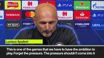 Eng Sub: No pressure playing at Wembley - Inter Milan manager on Tottenham Champions League clash