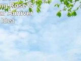 12th Anniversary Gift Everlasting Rose  Great 12 Year Anniversary Idea